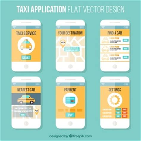 mobile app template ui vectors photos and psd files free