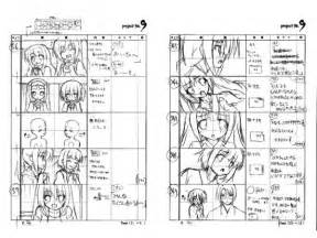 anime storyboard template sgcafe anime j pop news storyboards for