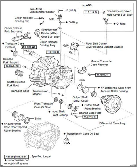 auto manual repair 2007 toyota camry transmission control toyota corolla repair manual components manual transaxle assy c59 automatic transmission