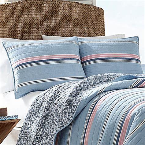 bed bath and beyond destin nautica 174 destin standard pillow sham in light blue bed