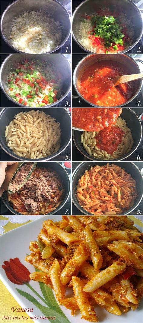 cocinar macarrones con atun macarrones con at 250 n paso a paso cocina pinterest
