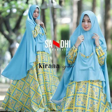 Kirana Syari 4 Warna longdress fashion butiq laman 10