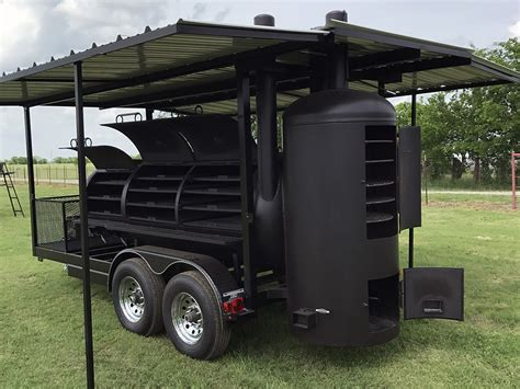 awnings for trailers 42 awning trailer johnson custom bbq smokers