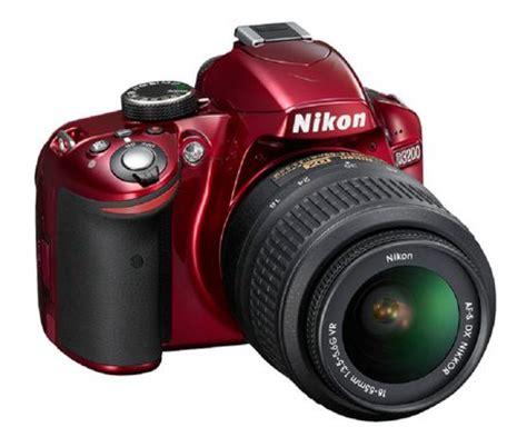 nikon d3200 digital slr camera kit, red | walmart.ca