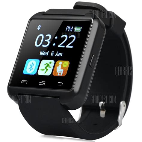 D Bluetooth 3 0 Smart rosewholesale u8s smart bluetooth with pedometer