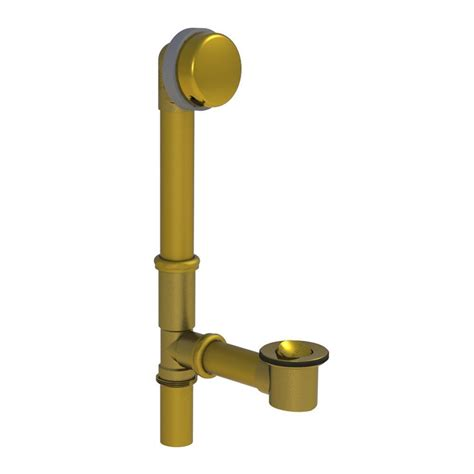 watco bathtub faucets watco 598 series 24 in tubular brass bath waste with