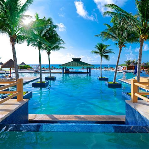 best hotels cancun best pools in cancun travel leisure