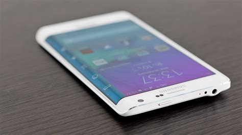 Samsung Note Edge samsung galaxy note edge review curved edge screen smartphone tech advisor