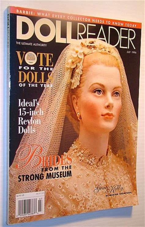 the doll reader doll reader dollreader magazine july 1996 grace