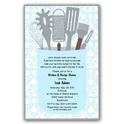 gleam kitchen shower invitations paperstyle