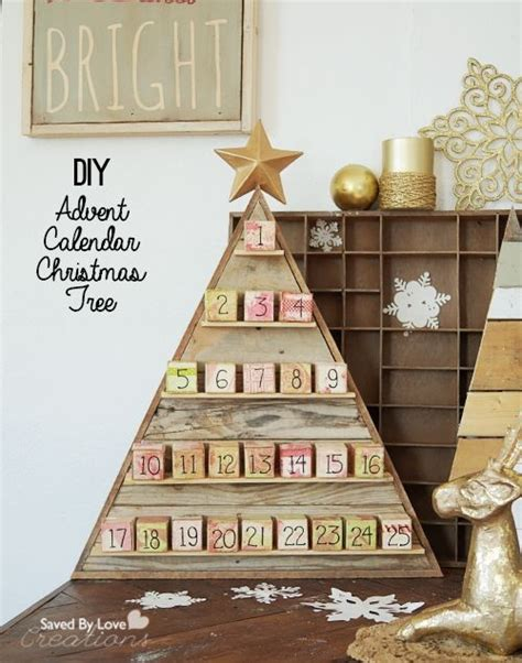 christmas woodworking ideas these are diy wooden 2016 calendar block that are for all fashion