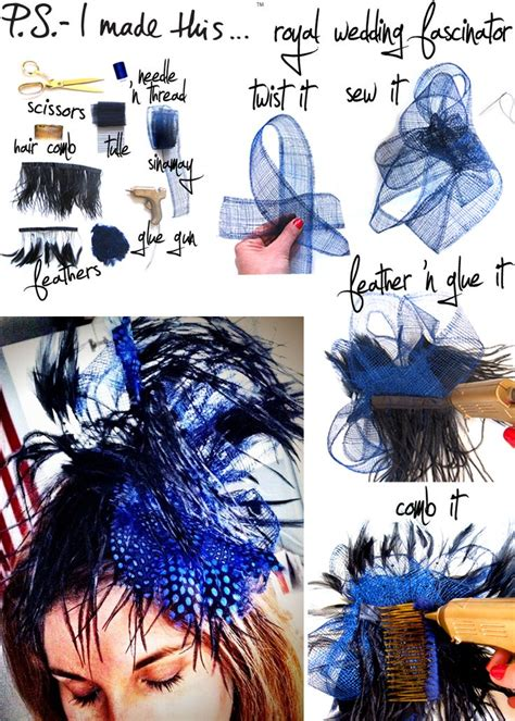 quick hair tutorial using a fascinator head band youtube 1000 images about diy hats hair accessories on