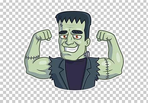 sticker telegram horror png cartoon fictional character