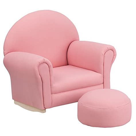 pink rocking chair and stool pretty pink chairs for rooms webnuggetz