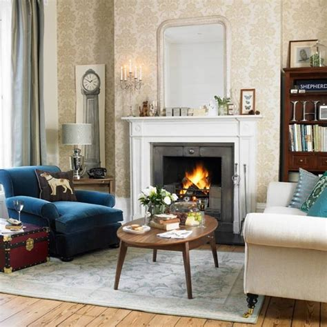 Traditional Living Room Ideas Uk by Classic Living Room In Cool Colours
