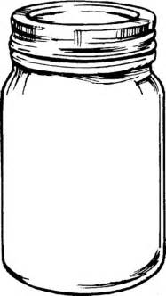 Bug Jar Coloring Page jar coloring pages