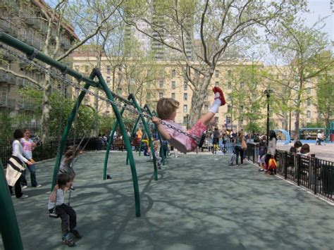 nyc swing manhattan living 183 the john jay playground in nyc newly