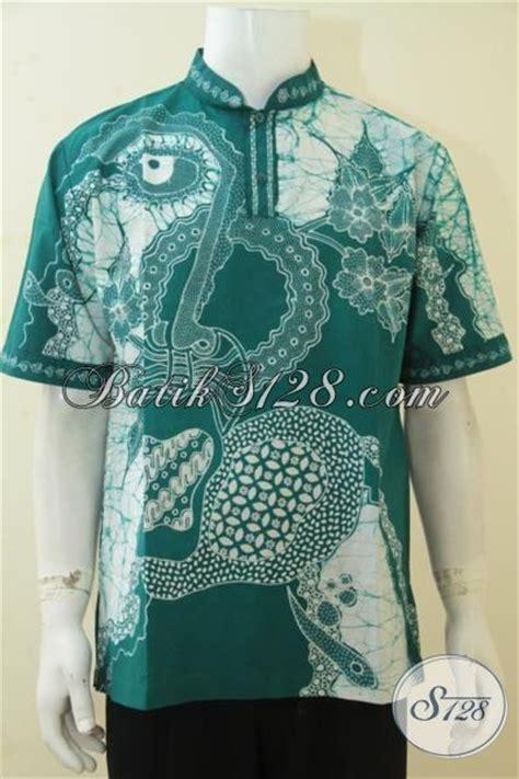 desain baju batik hijau kemeja batik muslim warna hijau baju batik koko kerah