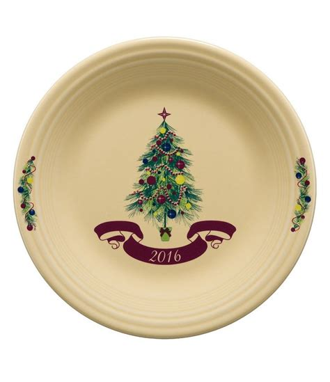 fiesta christmas tree 2016 collector 180 s plate trees