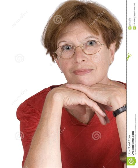 middle age hairy women middle aged red headed woman stock photography image