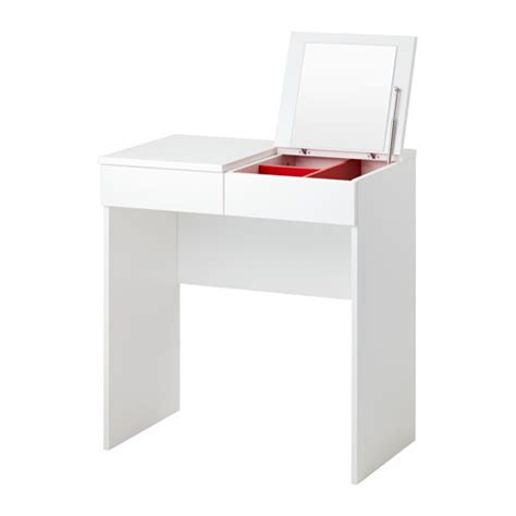 Compact Desk Ideas by Brimnes Toiletbord Ikea