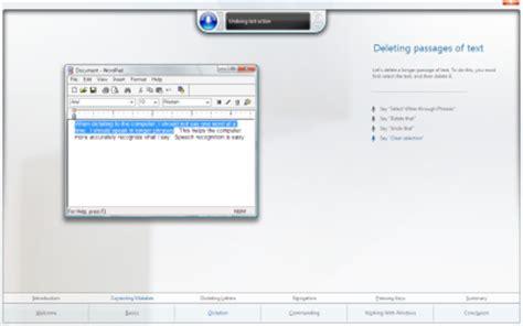 windows 10 speech recognition tutorial windows speech recognition tutorial included with windows