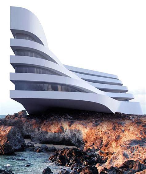 architectural concept  roman vlasov hotel design