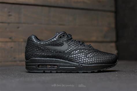 Nike Air Max One Black nike wmns air max 1 premium black black anthracite footshop