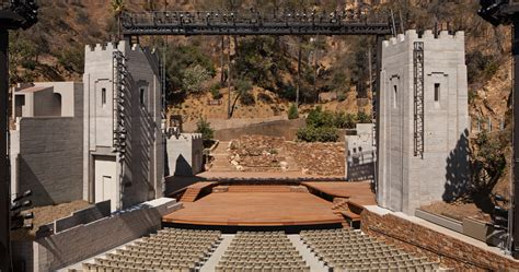 ford theater los angeles la s ford theatres complex completes major renovation
