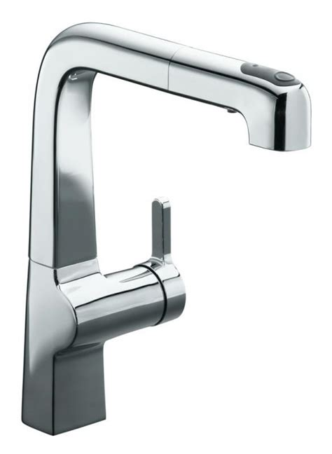 kohler evoke kitchen faucet kohler evoke single control pullout kit productfrom com