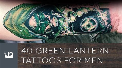 green lantern tattoos 40 green lantern tattoos for