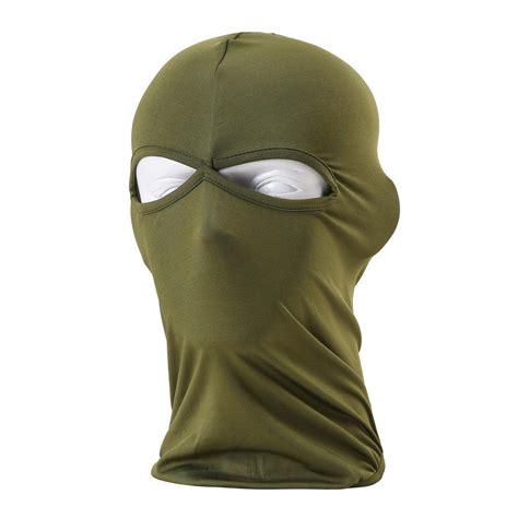 comfortable face 2017 comfortable lycra balaclava headwear 2 hole face mask