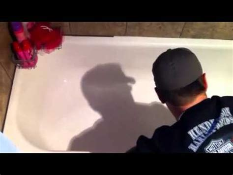 bathtub slip prevention applying anti slip coating to a porcelain tub nu look