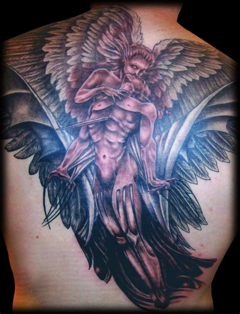 tattoo angel vs demon demon tattoos tattoo design and ideas