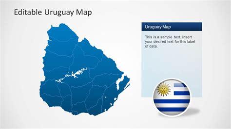 uruguay on a world map 2 6390 01 uruguay map 2 slidemodel
