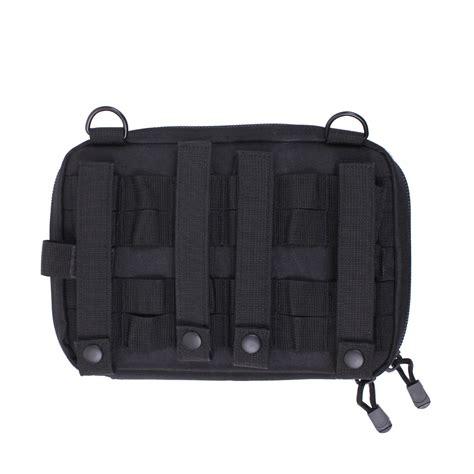 molle pouches black black advanced tactical admin map document molle