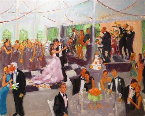 ups louisville wedding painting joan zylkin the event painter joan zylkin