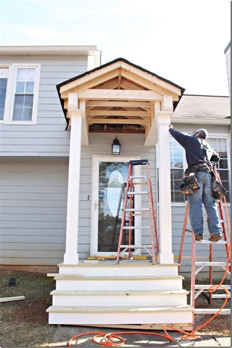 building a front door building a front portico southern hospitality