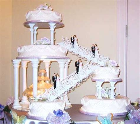 pictures of wedding cakes with stairs | sylvie guillems