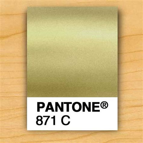 Pantone L by Gold Ink Pms 871 The Prettiest Pantone Gold Which