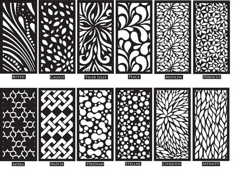 decorative screens garden screens