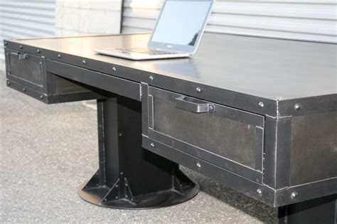 combine 9 industrial furniture industrial desk with