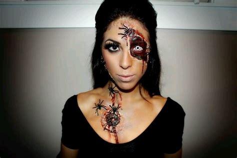 halloween makeup tutorial liquid latex halloween makeup sfx diy spider queen makeup use