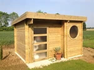 abris jardin toit plat pas cher vente abri en bois de jardin