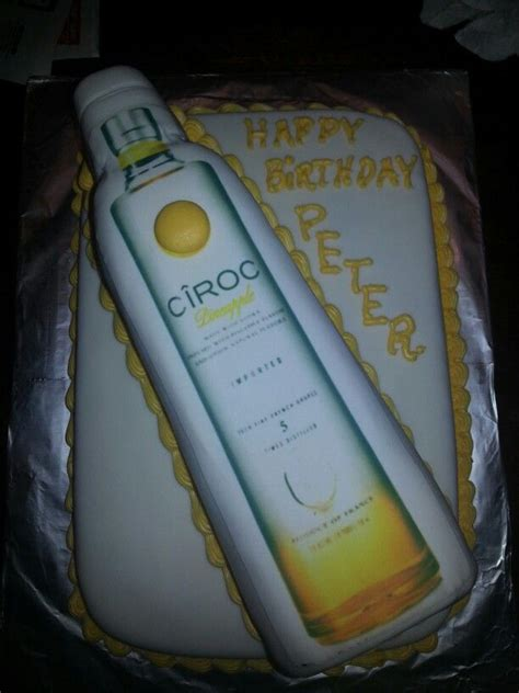 pineapple ciroc cake  cakes   cake custom cakes birthday parties