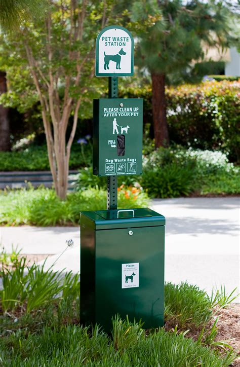 waste station the doodyfree water project prime real estate for pet waste stations