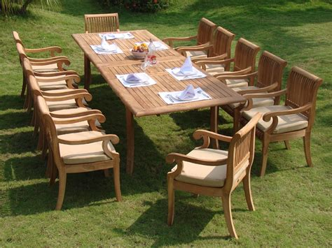 Dining Bench Cushion Patio Furniture Irresistible Teak No Cushion Outdoor Furniture