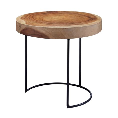 wood slab side table titan lighting finish wood slab side table tn