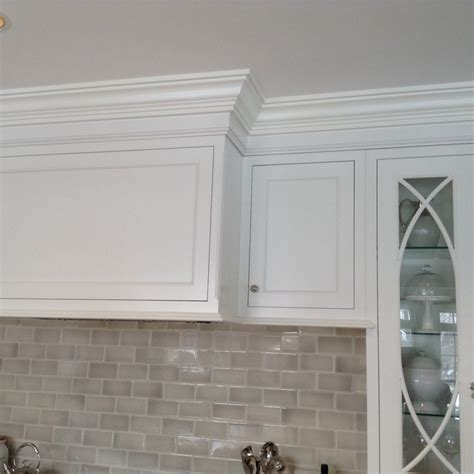 crown moulding ideas for kitchen cabinets cabinets moulding that goes to 9 ft ceiling 45
