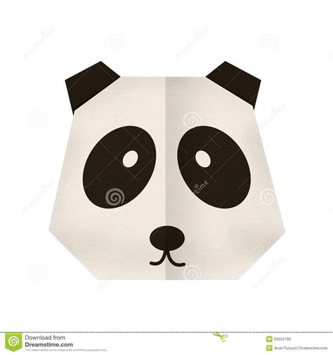 Origami Bookmark Panda - origami origami panda royalty free stock image image